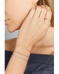 Aamaya By Priyanka - Metallic Cloud Gold-plated Topaz Bracelet - Lyst