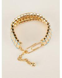 Aurelie Bidermann   Metallic 'mendoza' Bracelet   Lyst