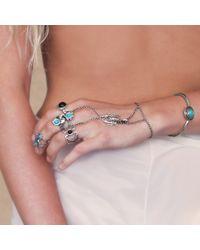 Pamela Love | Metallic Solar Bracelet In Antique Silver | Lyst