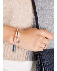 Monica Vinader - Metallic Linear Sterling Silver Bracelet - Lyst