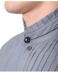Dries Van Noten - Black Necklace With Pearl for Men - Lyst