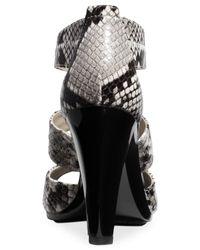 Michael Kors - Natural Michael Berkley T-Strap Sandals - Lyst