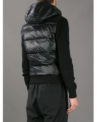 Moncler - Black Padded Jacket for Men - Lyst