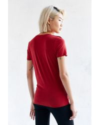 Project Social T | Red Slick Tee | Lyst