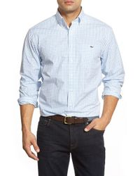 Vineyard Vines | Brown 'folly Check - Tucker' Slim Fit Sport Shirt for Men | Lyst
