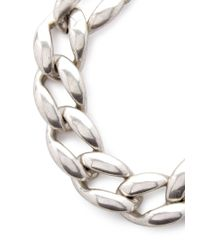 Forever 21 - Metallic Chain Link Collar Necklace - Lyst
