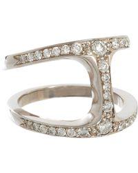 Hoorsenbuhs | White Dame Phantom Cage Ring Size 6.5 | Lyst