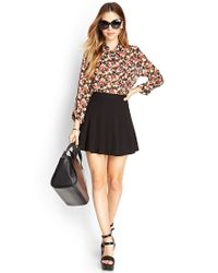 Forever 21 - Nature-inspired Floral Shirt - Lyst