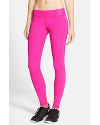 Trina Turk | Pink 'bermuda' Leggings | Lyst