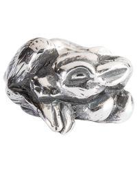 Trollbeads - Metallic Sterling Silver Fawn Charm - Lyst