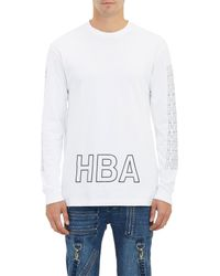 Hood By Air - White Stenciled Long-Sleeve T-Shirt for Men - Lyst