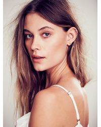 Free People - Metallic Kria Womens Snake Fang Cuff To Post Earring - Lyst