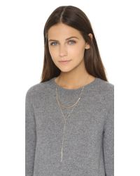 Phyllis + Rosie | Metallic Whitney Necklace - Gold | Lyst