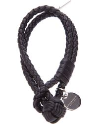 Bottega Veneta | Black Braided Bracelet | Lyst