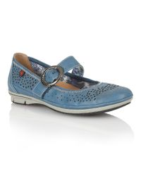 Lotus | Blue Hingis Casual Shoes | Lyst