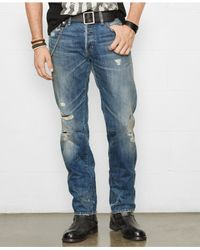 Denim & Supply Ralph Lauren - Blue Straight-Fit Russel Jeans for Men - Lyst