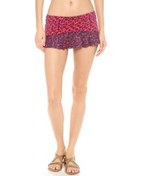 Marc By Marc Jacobs | Purple Aurora Skirted Bikini Bottoms | Lyst