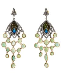 Sevan Biçakci | Multicolor Sevan Biçakçi Peacock Intaglio Drop Earrings-Colorless | Lyst