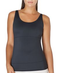 Yummie By Heather Thomson | Black Mercer Hidden Panel Shaping Tank | Lyst