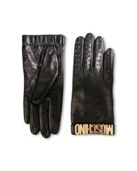 Moschino - Black Gloves - Lyst