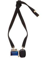 Marni - Blue Resin & Horn Necklace - Lyst
