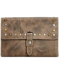 Patricia Nash | Gray Distressed Vintage Colli Wallet | Lyst