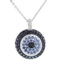 Pippo Perez | Black Evil Eye Necklace | Lyst