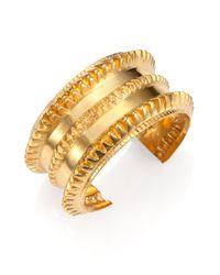 A Peace Treaty | Metallic Remi Spiked Cuff Bracelet | Lyst
