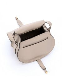 Chloé - Gray Light Motty Grey Leather Small Shoulder Bag - Lyst