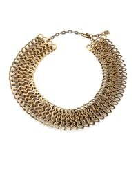 DANNIJO | Metallic Dayton Chain Necklace | Lyst