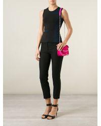 Alexander McQueen - Pink Heroine Mini Leather Shoulder Bag - Lyst