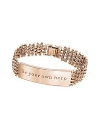Stella Valle - Metallic Be Your Own Hero - Lyst