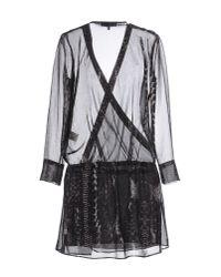 IRO - Black Short Dress - Lyst