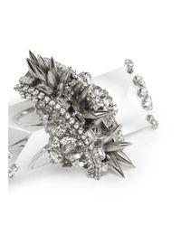 Erickson Beamon Metallic 'the Shining' Spikes Ring