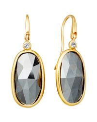 Astley Clarke | Metallic Cassini Hematite Drop Earrings | Lyst
