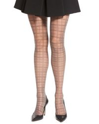 Falke | Brown Openwork Sheer Tights | Lyst