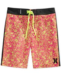 Hurley | Pink Snapper Board Shorts for Men | Lyst