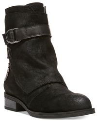 Fergie - Black Neptune Cuff Over Zippered Booties - Lyst
