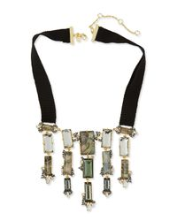 Alexis Bittar | Multicolor Elements Ribbon Bib Necklace | Lyst
