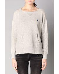 Polo Ralph Lauren | Gray Sweatshirt | Lyst
