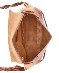 Patricia Nash - Brown Firenze Tooled Rose Flap Large Saddle Bag - Lyst