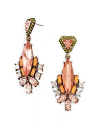BaubleBar - Pink Space Marquise Drops - Lyst