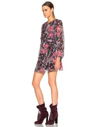 IRO - Pink Deylfe Dress - Lyst