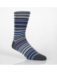 Paul Smith | Sky Blue Signature Stripe Socks for Men | Lyst