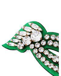 Shourouk | Green 'legend' Earrings | Lyst