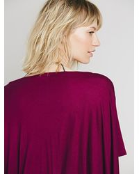 Free People | Red Emma Love Tee | Lyst