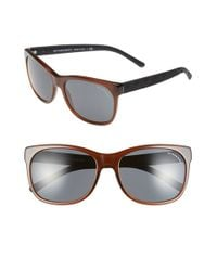 Burberry | Brown 58mm Sunglasses | Lyst