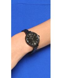 Marc By Marc Jacobs | Sally Watch - Black | Lyst