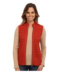Pendleton | Red Zipster Vest | Lyst
