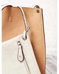 Free People - Orange Slouchy Vegan Tote - Lyst
